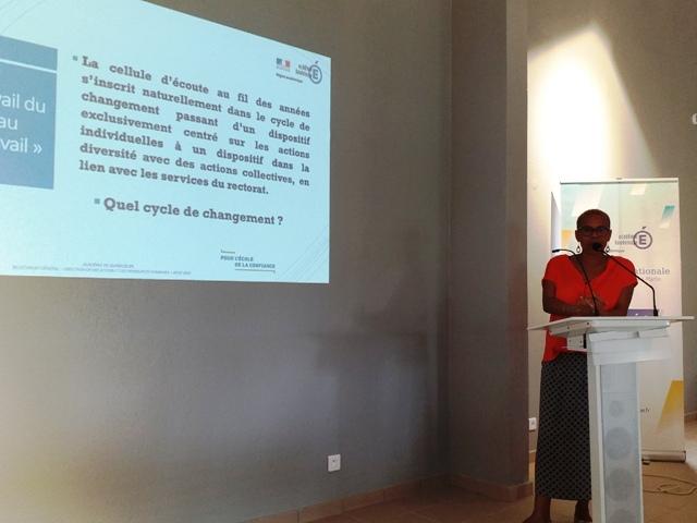 Corine BRELEUR-DACALOR, conseillère en gestion des ressources humaines