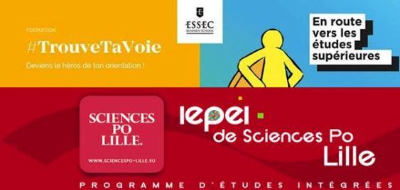 Deux projets avec l'ESSEC et Sciences-Po Lille