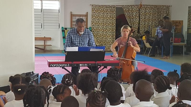 A l'école maternelle Eliane Clark
