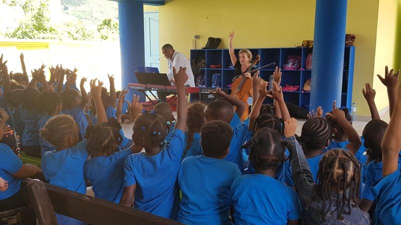 A l'école maternelle Siméonne Trott