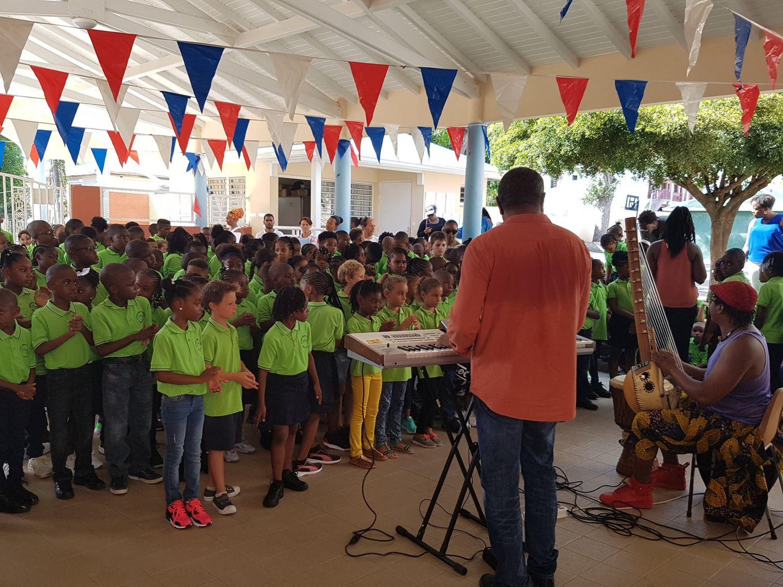 Rentrée en musique à l'école Emile Choisy