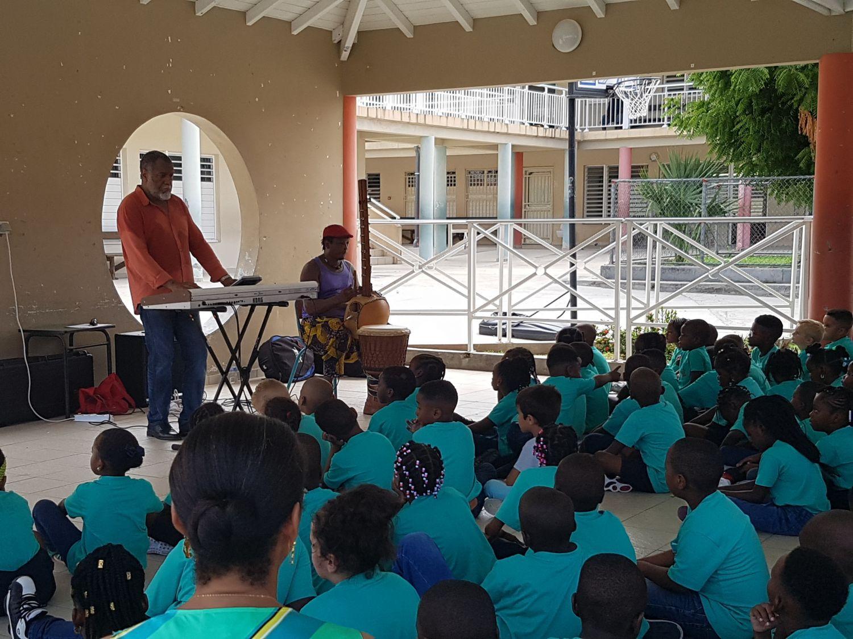 Rentrée en musique à l'école Hervé Williams