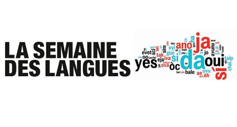 La semaine des langues