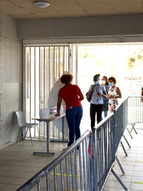 Reprise des lycéens au LEGT Robert Weinum