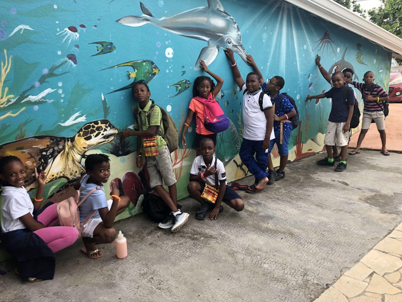 20 élèves de Quartier d'Orléans en séjour pédagogique en Guadeloupe