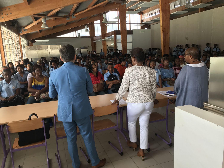 Rentrée au collège Mont-des-Accords