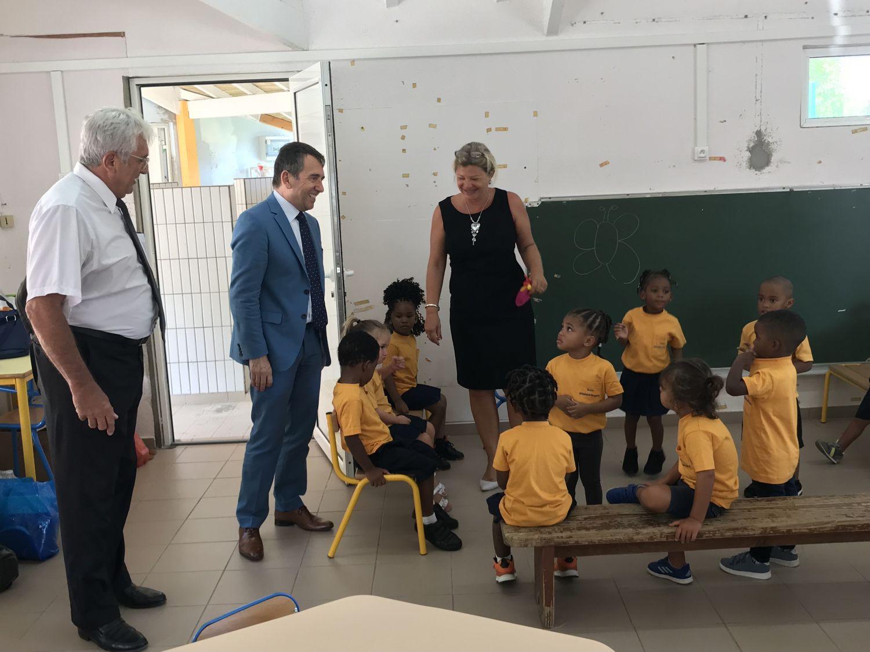 Rentrée à l'école maternelle Ghislaine Rogers