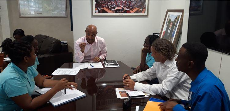 Interview de Monsieur le Président de la collectivité de Saint-Martin