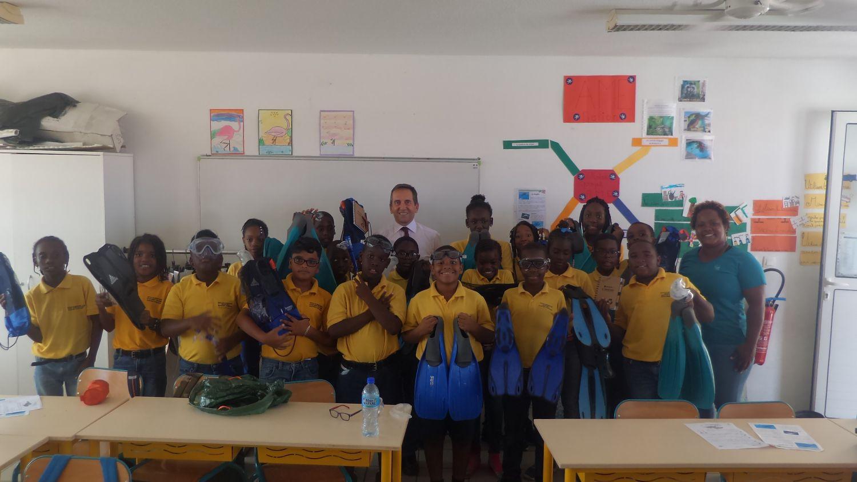 Stéphane Mifsud, un recordman du monde à la rencontre des élèves de Saint-Martin