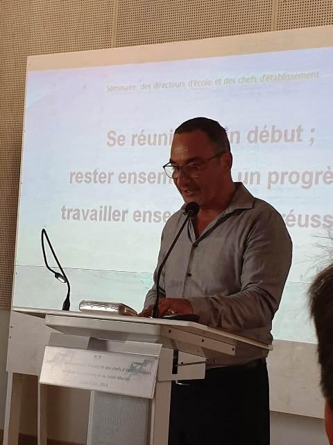 Olivier BEAUFOUR présente le bilan de D'PASS