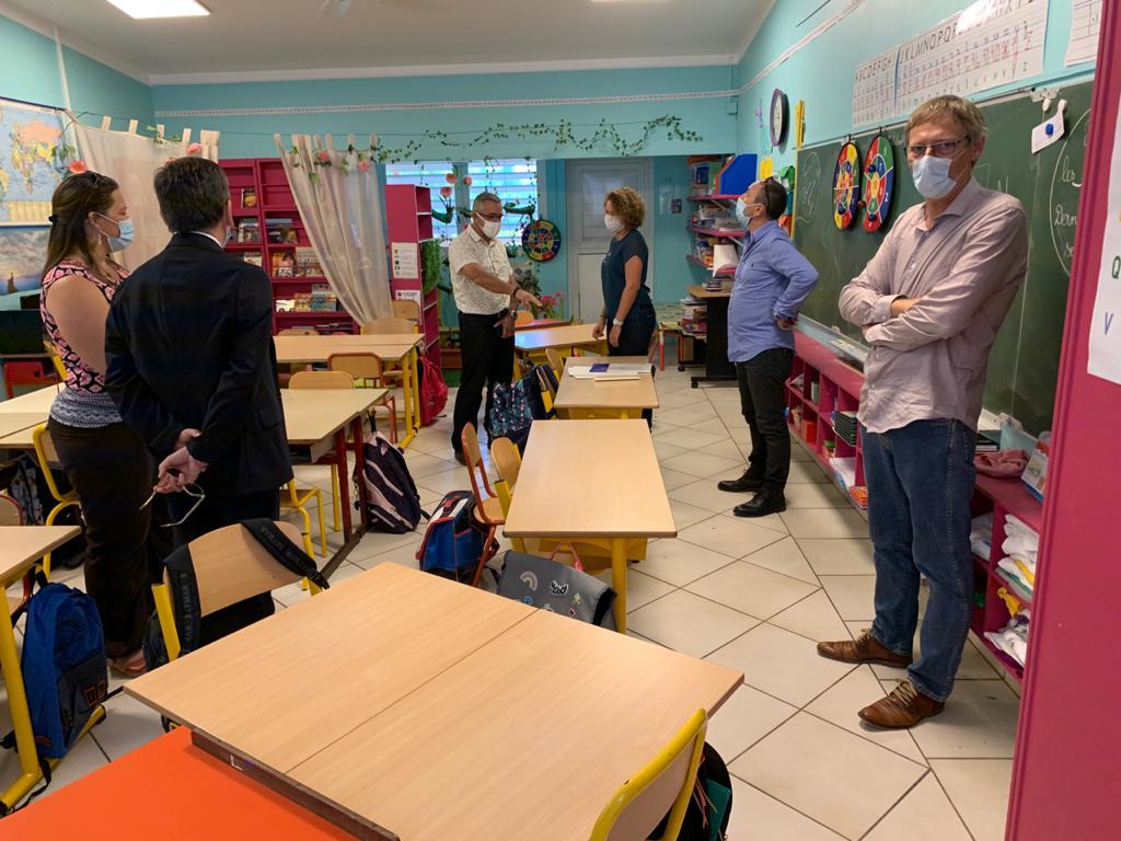 Visite à l'école Saint-Marie de Colomier
