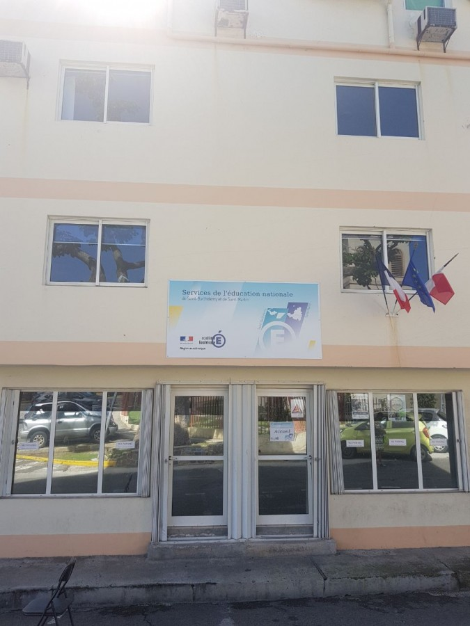 Les services de l'Education nationale à Saint-Barthélemy et à Saint-Martin