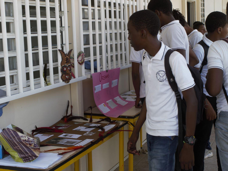 Les élèves du collège de Quartier d'Orléans
