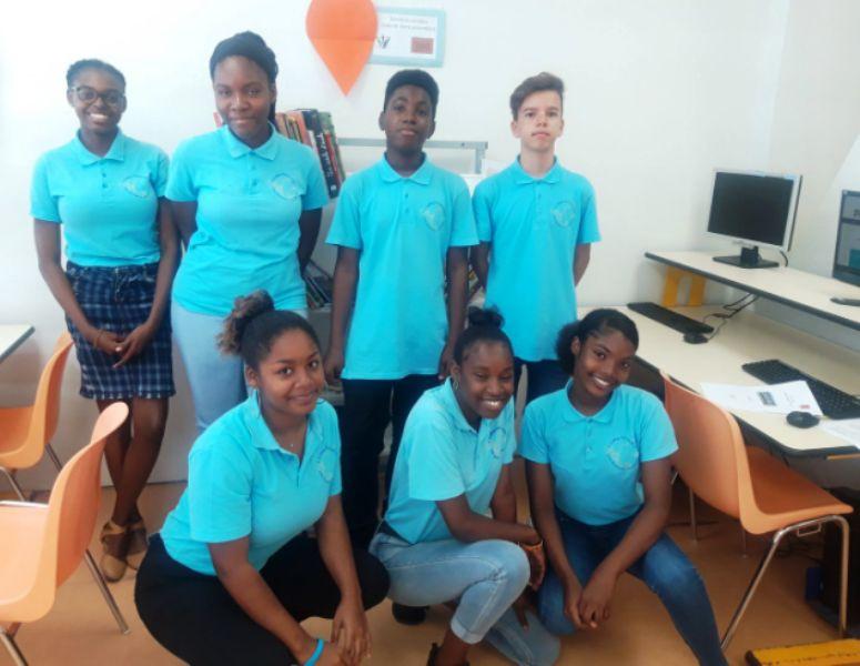Des élèves du collège Soualiga participent aux deux projets