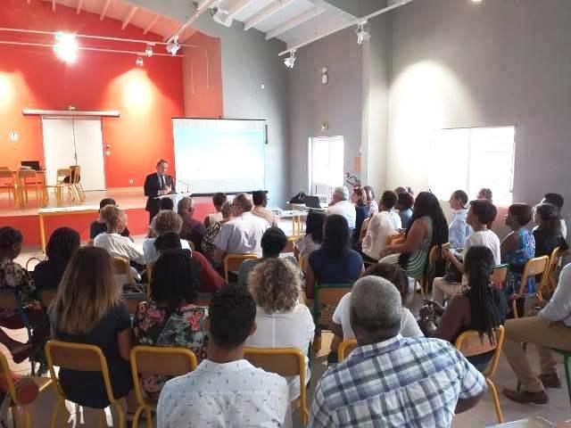 Réunion en plénière : présentation