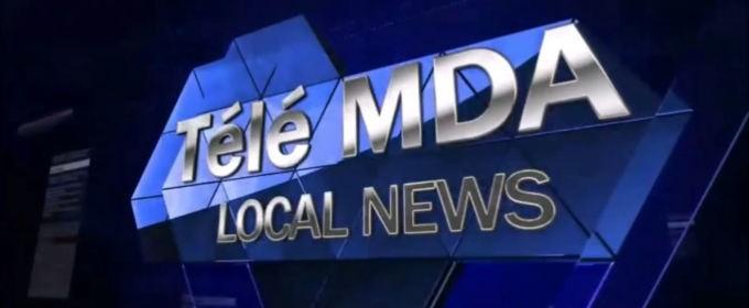 le journal télévisé réalisé par la 4e2 du collège Mont des Accords