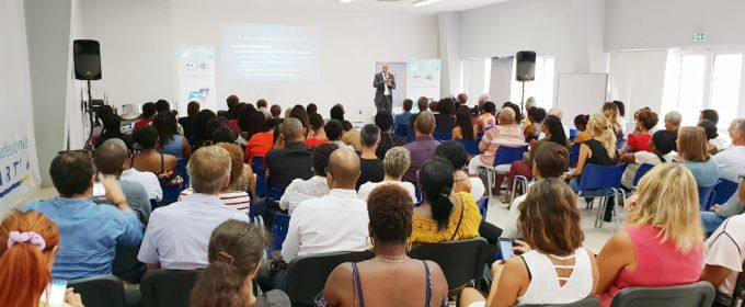La réunion de rentrée du recteur de l'académie de Guadeloupe à Saint-Martin
