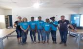 Des élèves de Robert Weinum au concours de robotique