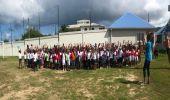 Les participants au cross