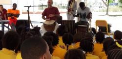Rythme africain dans les écoles de Quartier d'Orléans