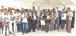 Les élèves de CM2 de l'école élémentaire Clair-Saint-Maximin