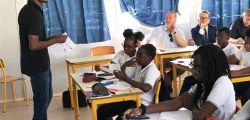 Une classe bilingue du collège de Quartier d'Orléans