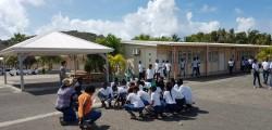 Exercice tsunami au collège de Quartier d'Orléans