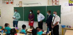 Visite de la classe bilingue de l'école Hervé Williams