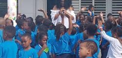 La rentrée à l'école maternelle Siméonne Trott